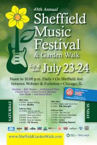2016 Garden Walk Poster
